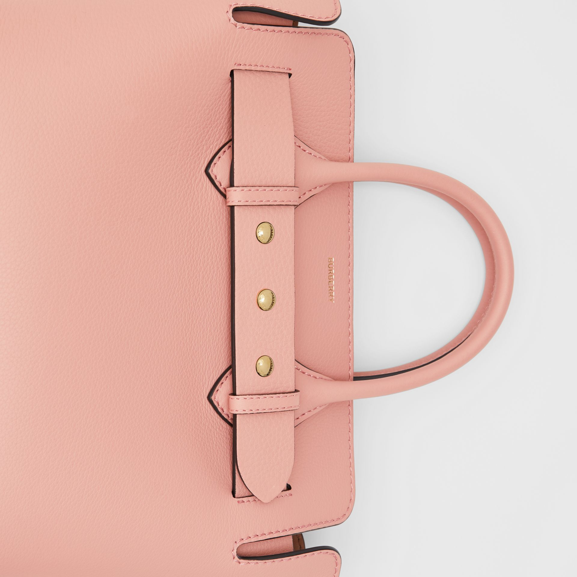 The Small Leather Triple Stud Belt Bag in Ash Rose - Women | Burberry - gallery image 1
