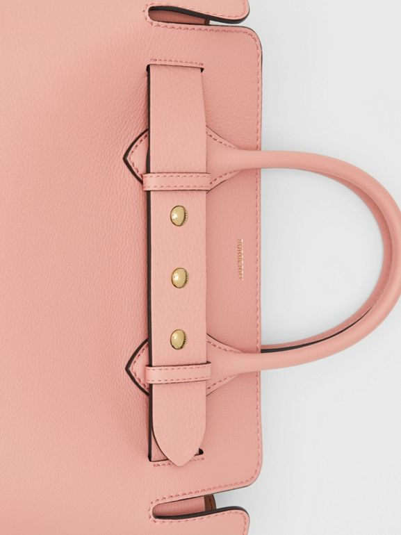 The Small Leather Triple Stud Belt Bag in Ash Rose - Women | Burberry - cell image 1