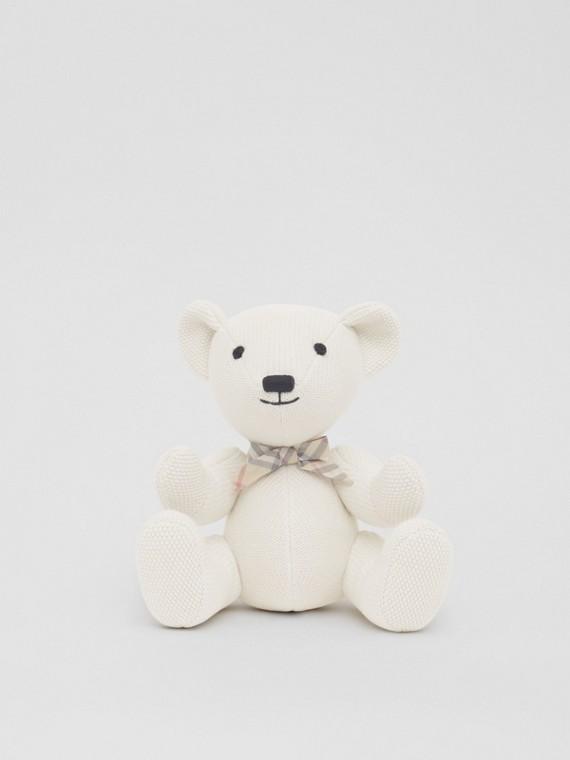 Thomas Bear de algodão e cashmere (Marfim)