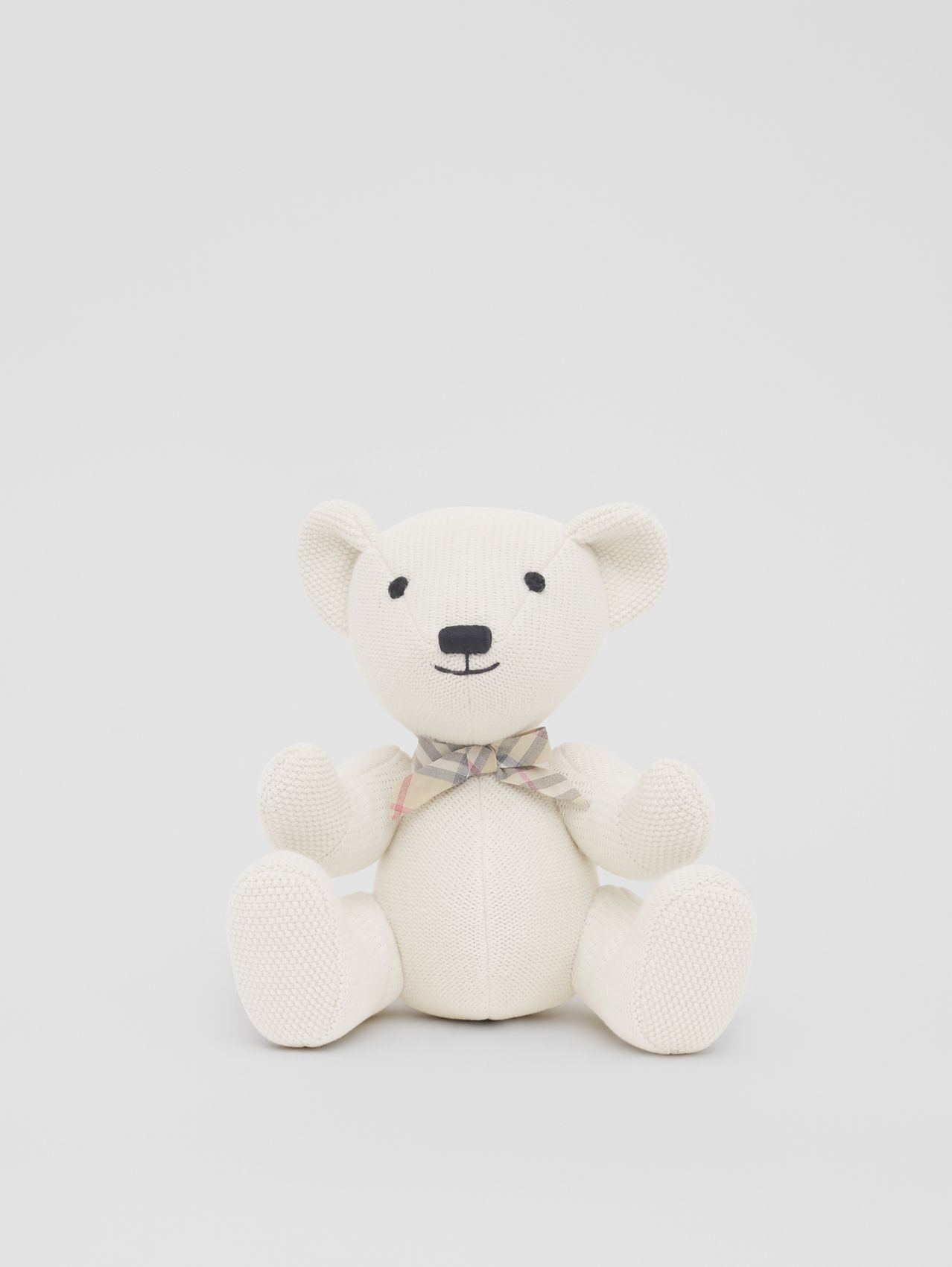 Cotton Cashmere Thomas Bear (Ivory)