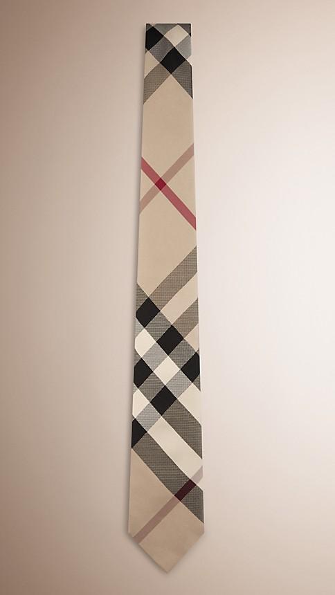 New classic check Check Silk Tie - Image 1