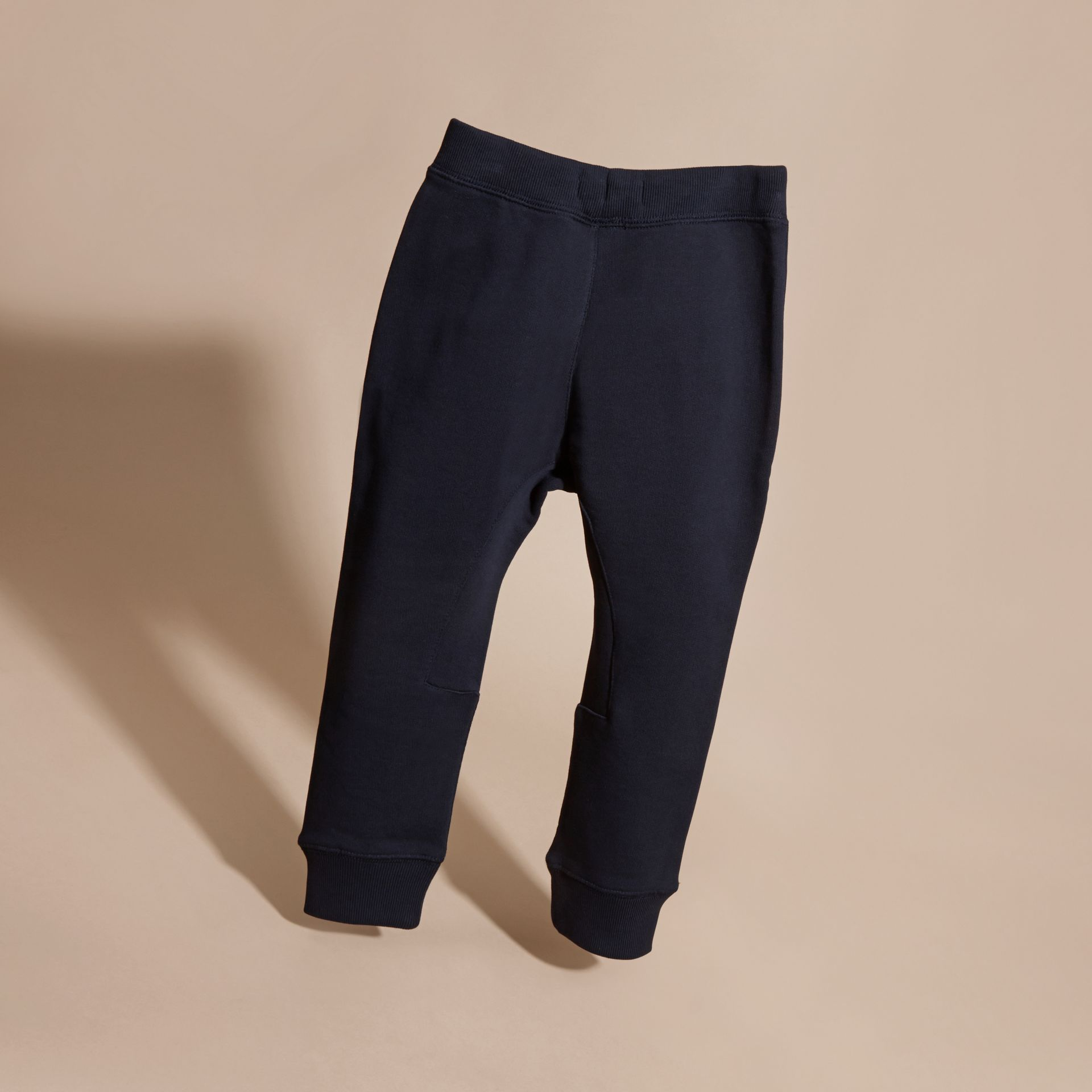 Dark navy Cotton Sweat Pants Dark Navy - gallery image 4
