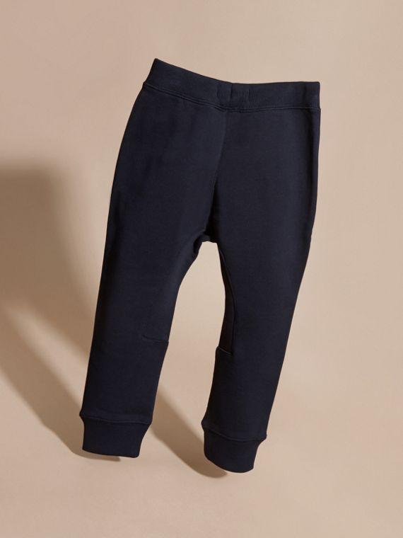 Dark navy Cotton Sweat Pants Dark Navy - cell image 3