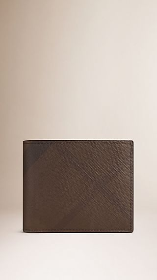 London Check Wallet