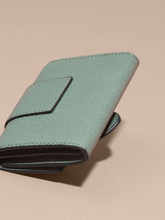 Buckle Detail Leather Card Case - cell image 3