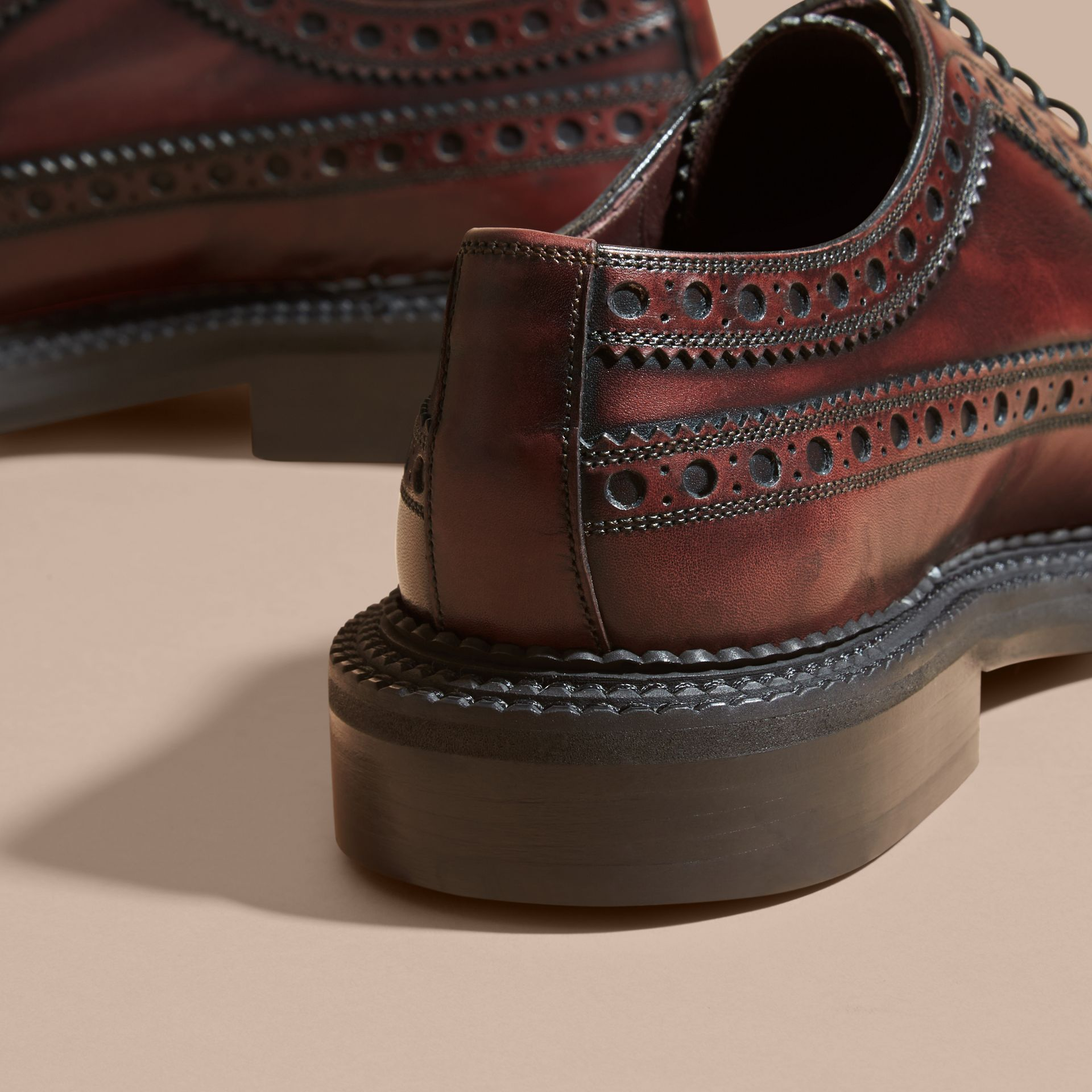 Leather Derby Brogues - gallery image 4
