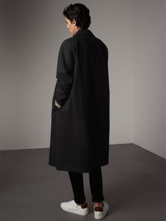 The Brighton – Extra-long Car Coat in Black - Men | Burberry - cell image 2
