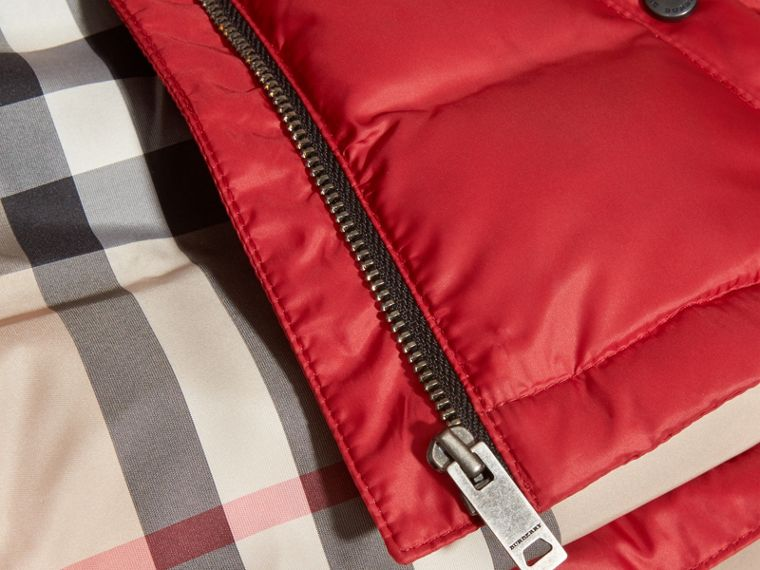 Hooded Down-filled Puffer Coat | Burberry - cell image 1
