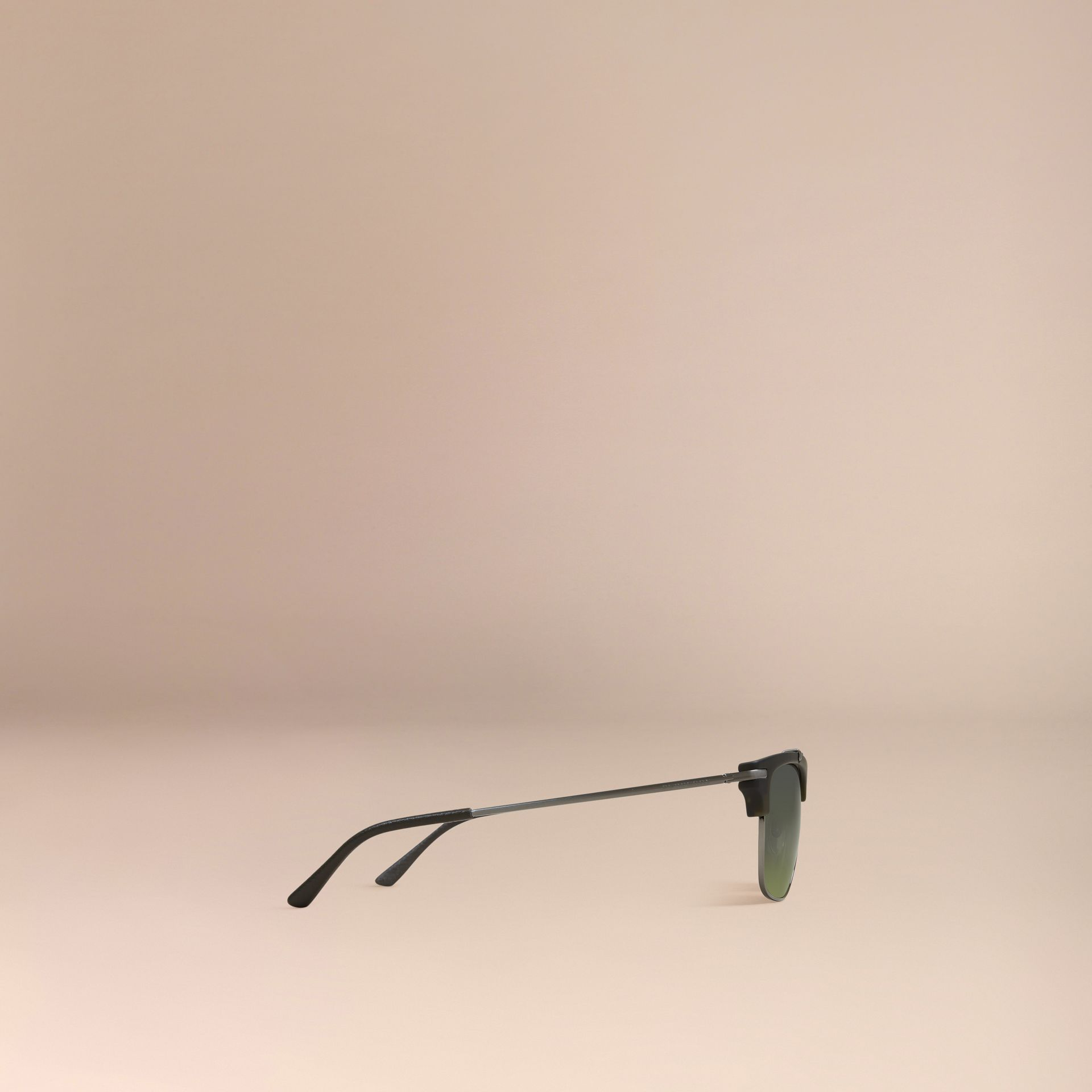 Square Frame Sunglasses Olive - gallery image 5