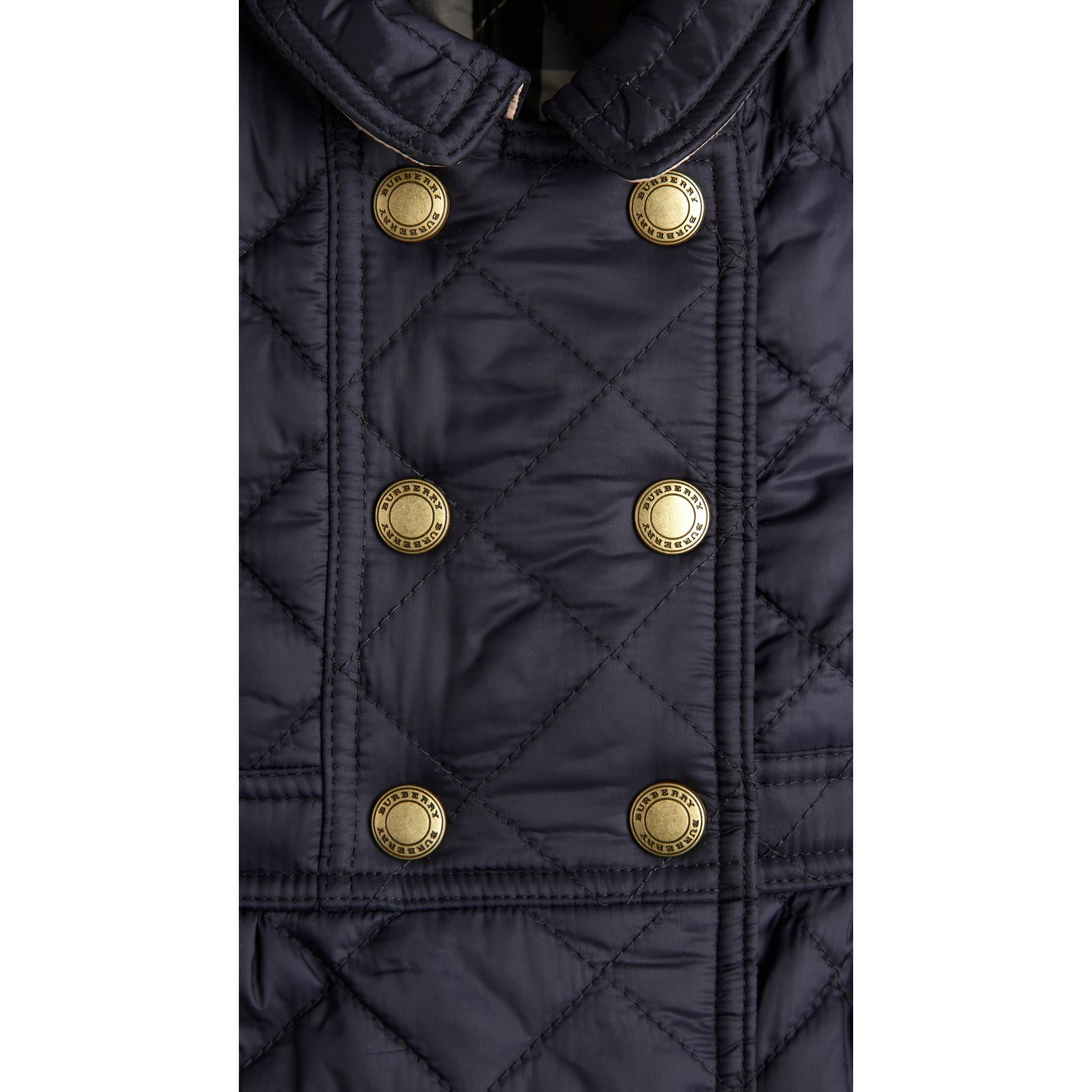 Quilted Peplum Jacket - Girl | Burberry - gallery image 3