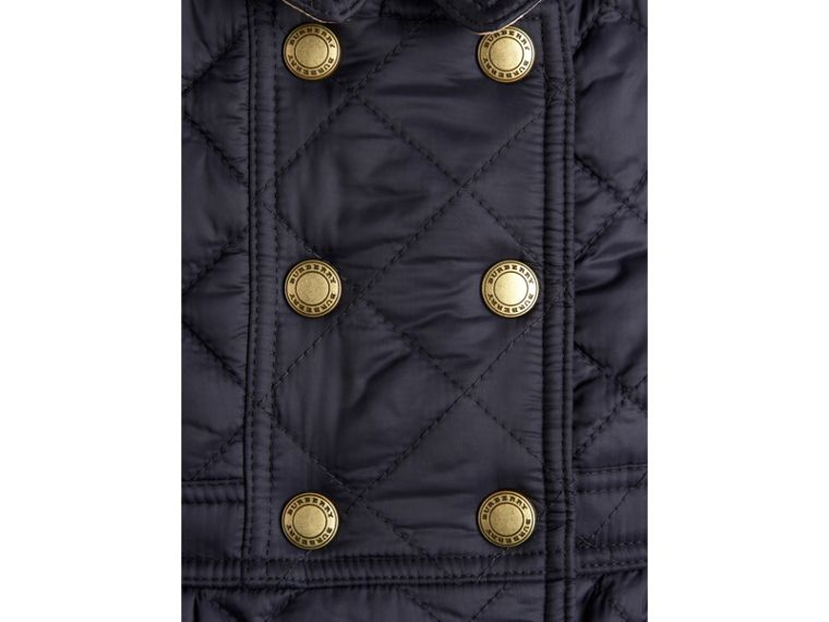Quilted Peplum Jacket - cell image 2