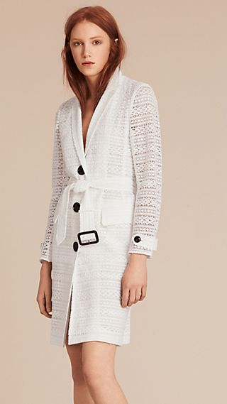 English Lace Tailored Coat