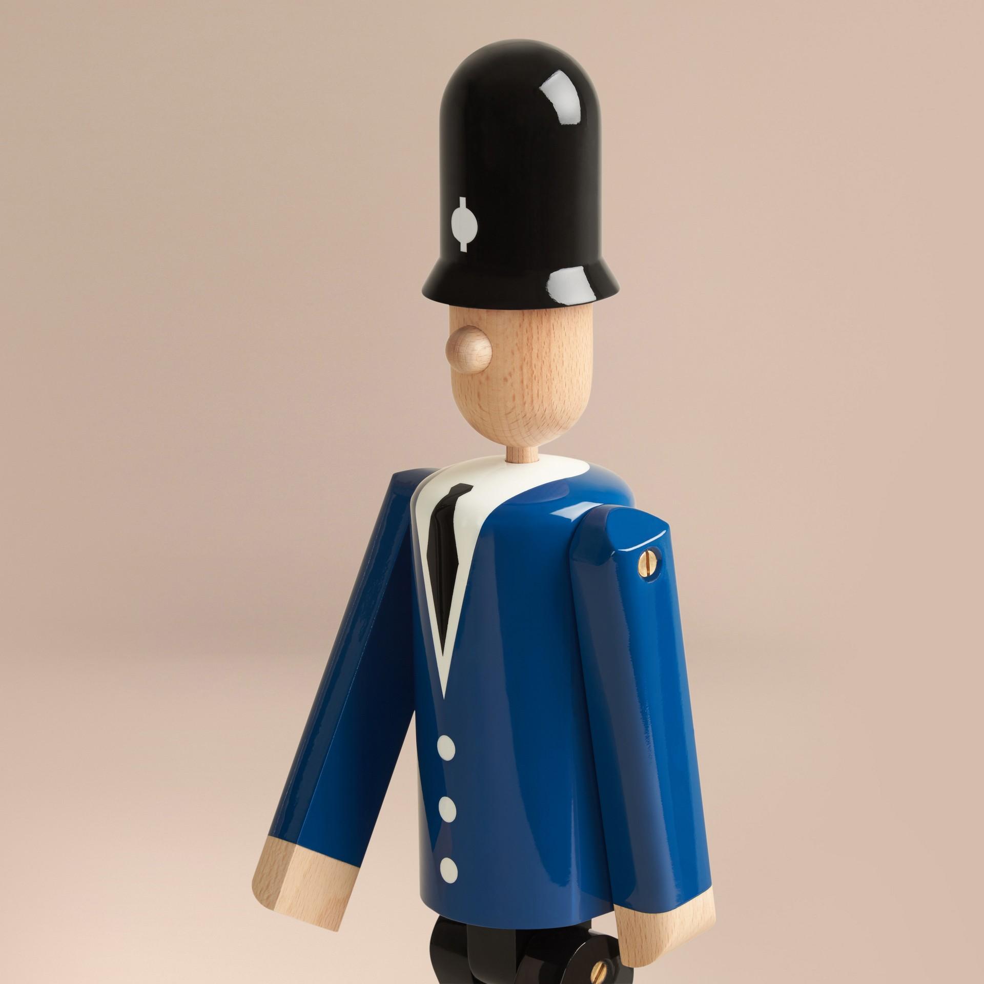Multicolore Marionnette en bois à l'effigie du Bobby en édition limitée - photo de la galerie 7
