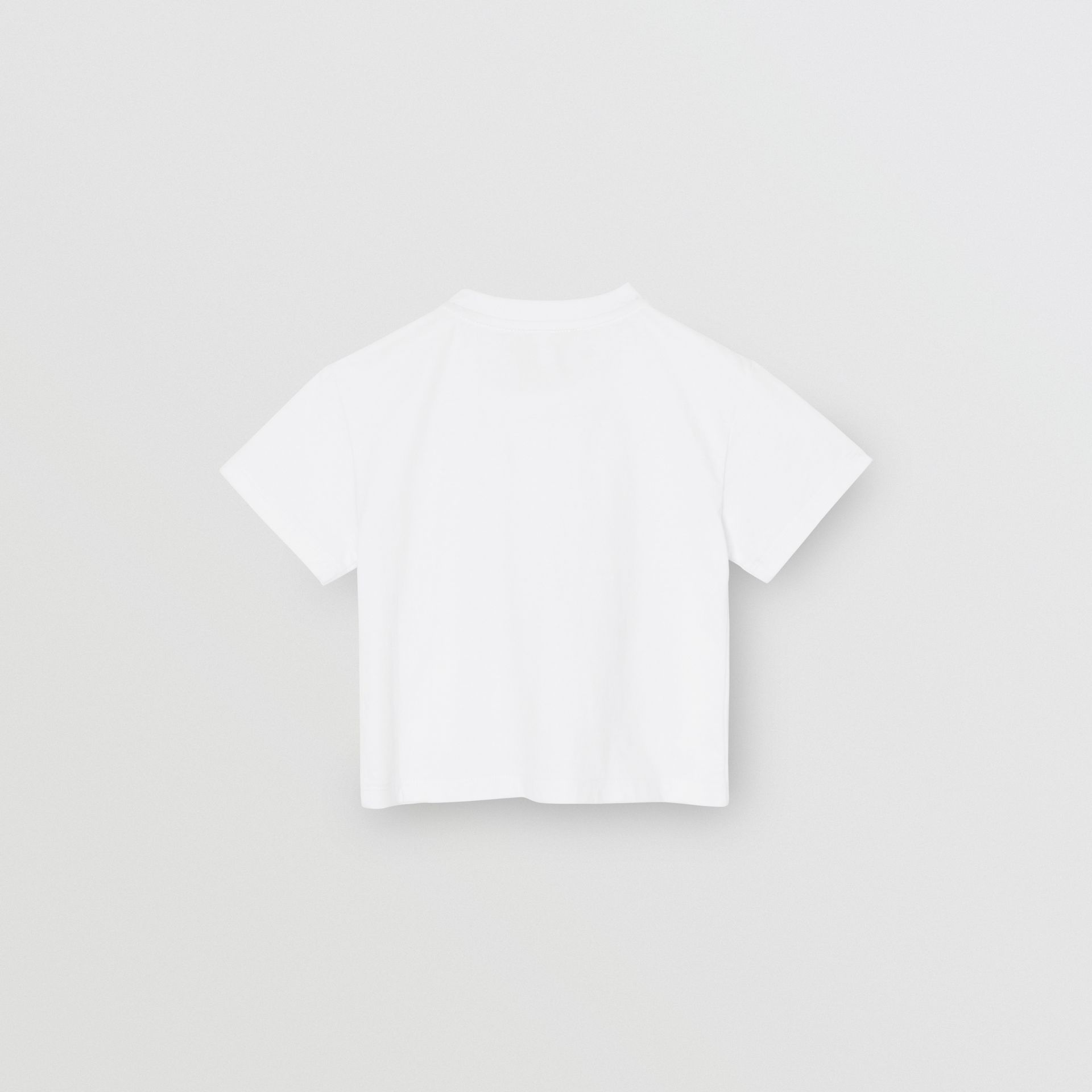 Chandelier Print Cotton T-shirt in White - Children | Burberry - gallery image 3