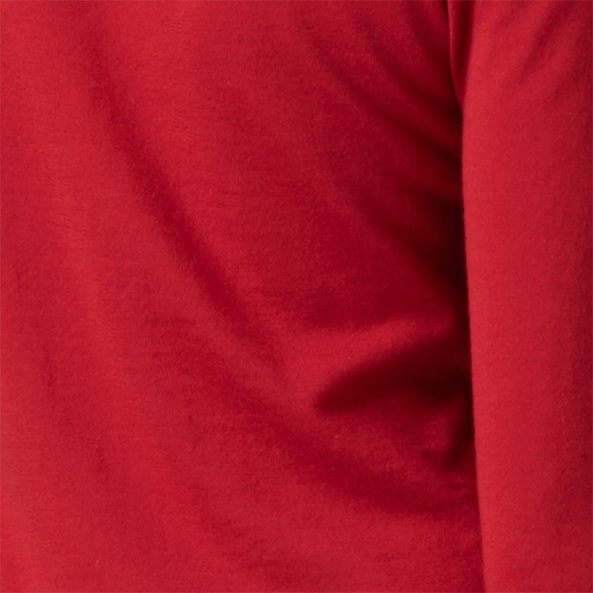Rosso militare Cardigan in lana con paramontura con motivo check Rosso Militare - immagine della galleria 2