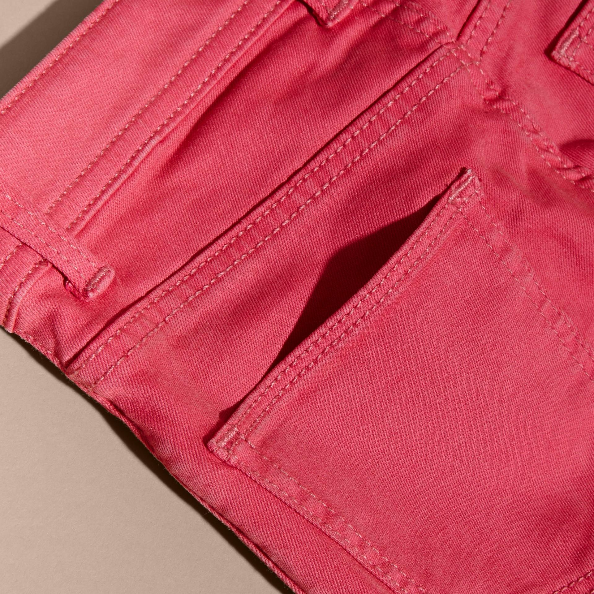 Skinny Fit Jeans Pink Azalea - gallery image 2