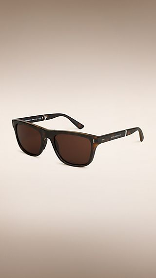 Folding Rectangular Frame Sunglasses