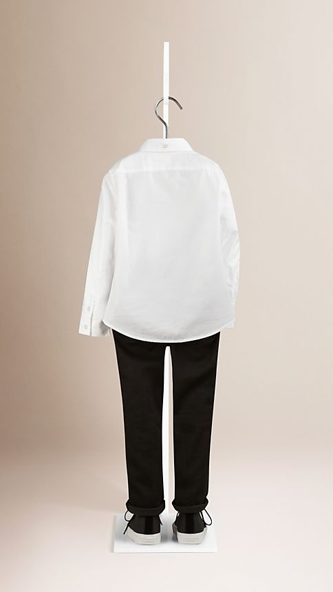 White Classic Oxford Shirt - Image 2