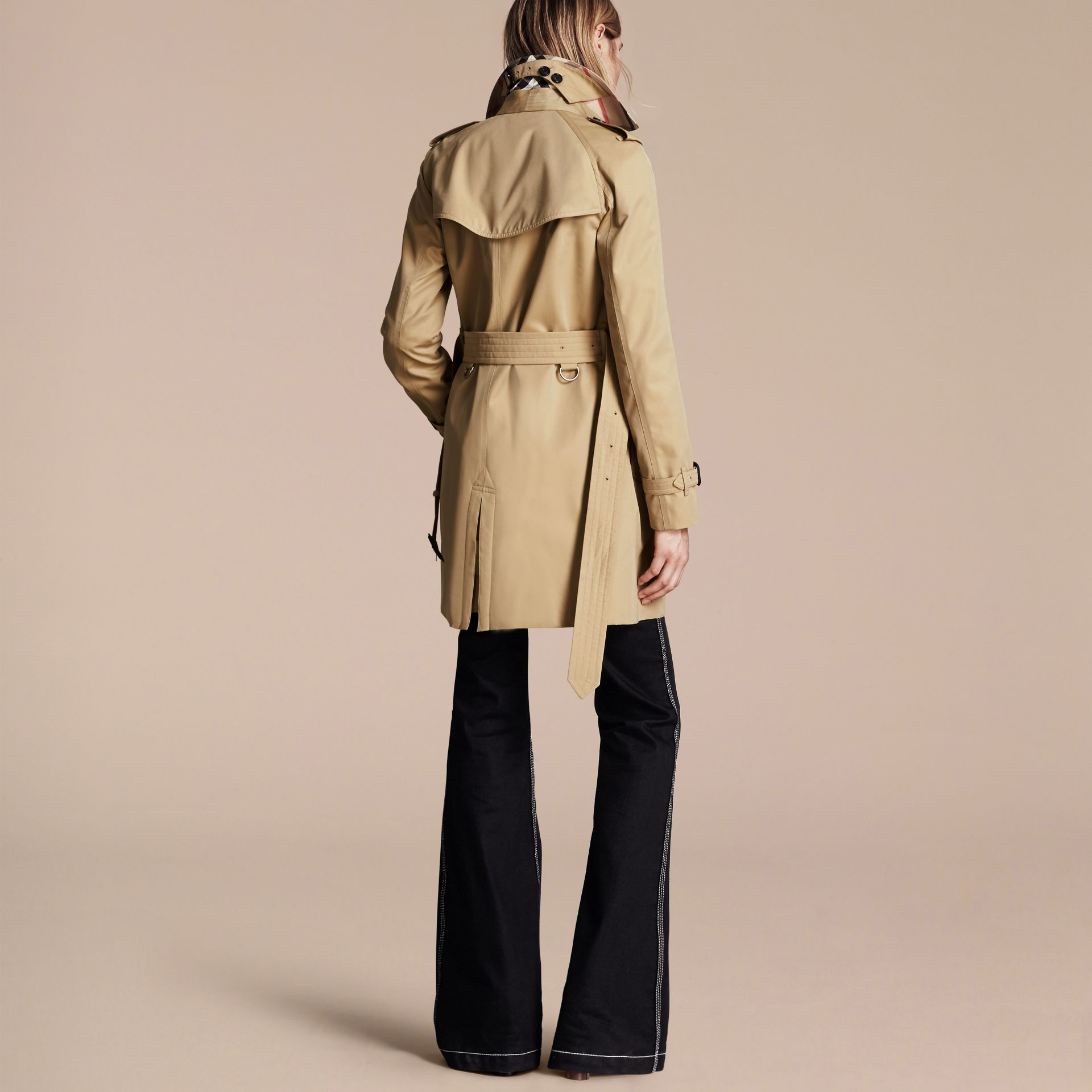 Honey The Westminster – Mid-Length Heritage Trench Coat Honey - gallery image 3