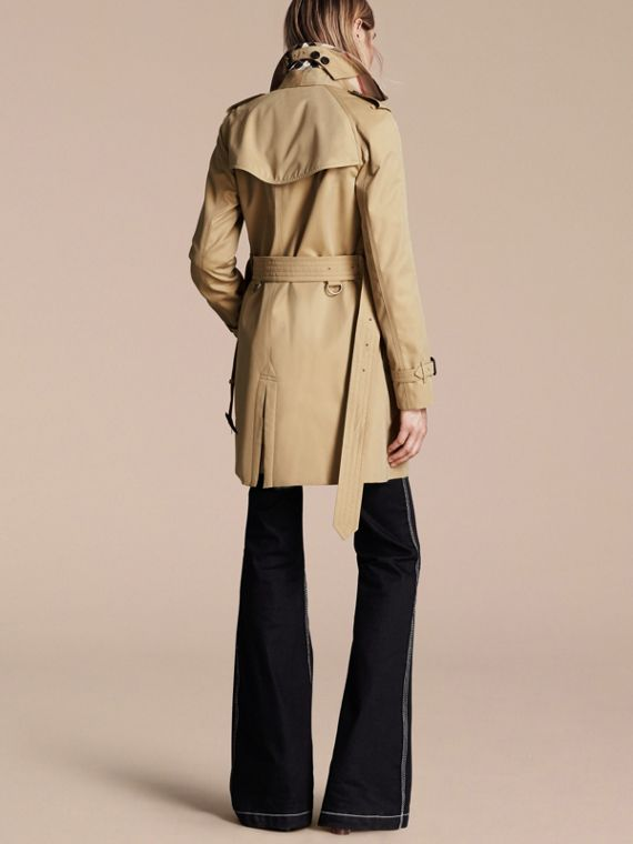 Honey The Westminster – Mid-Length Heritage Trench Coat Honey - cell image 2