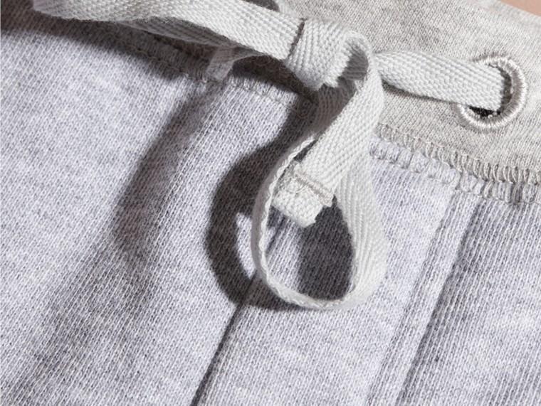 Grigio medio mélange Pantaloni tuta in cotone Grigio Medio Mélange - cell image 1