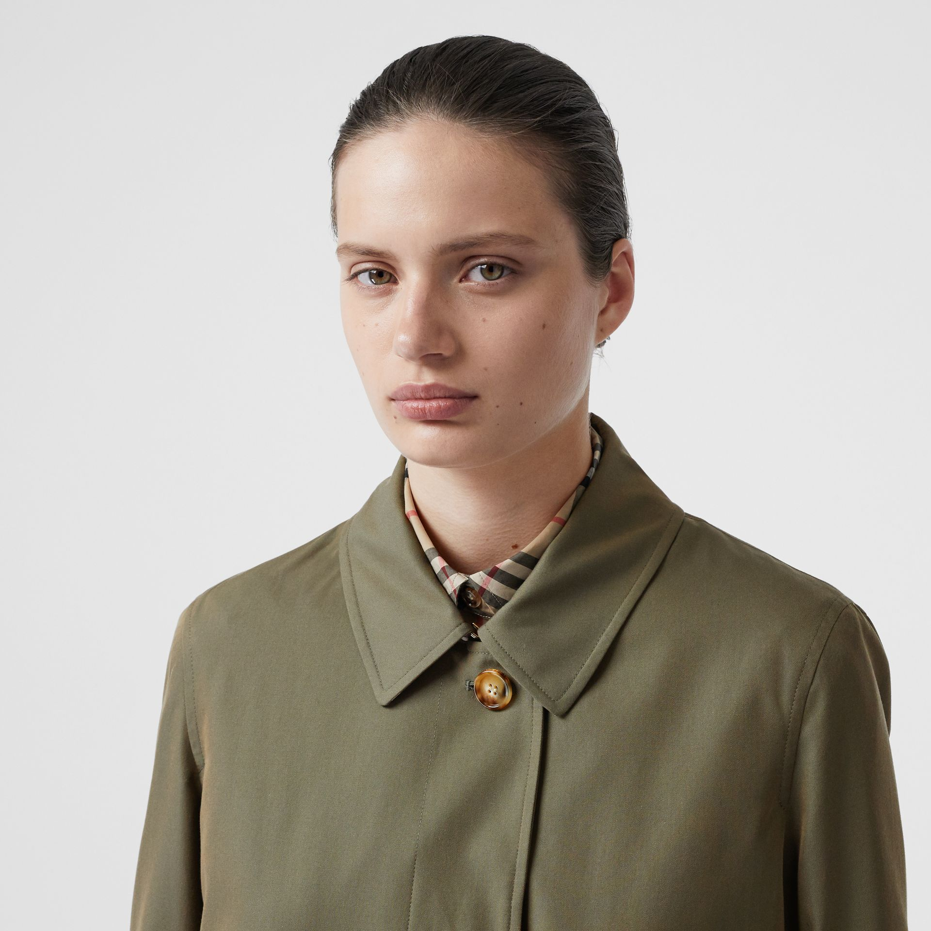 The Pimlico Heritage Car Coat in Oregano - Women | Burberry United Kingdom - gallery image 1