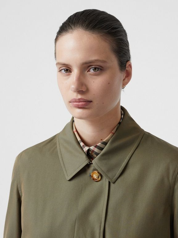 The Pimlico Heritage Car Coat in Oregano - Women | Burberry - cell image 1