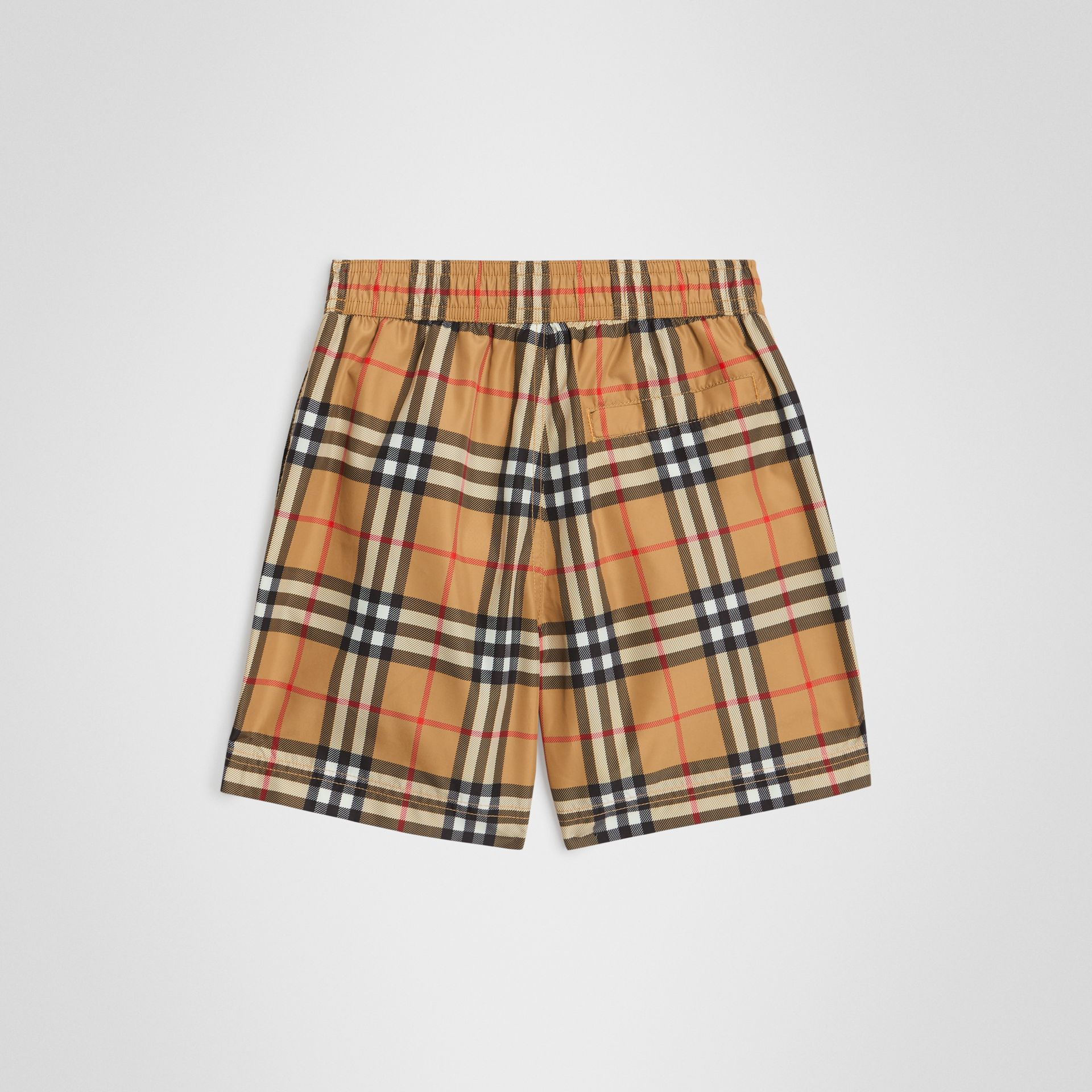 Vintage Check Swim Shorts in Antique Yellow | Burberry United Kingdom - gallery image 3