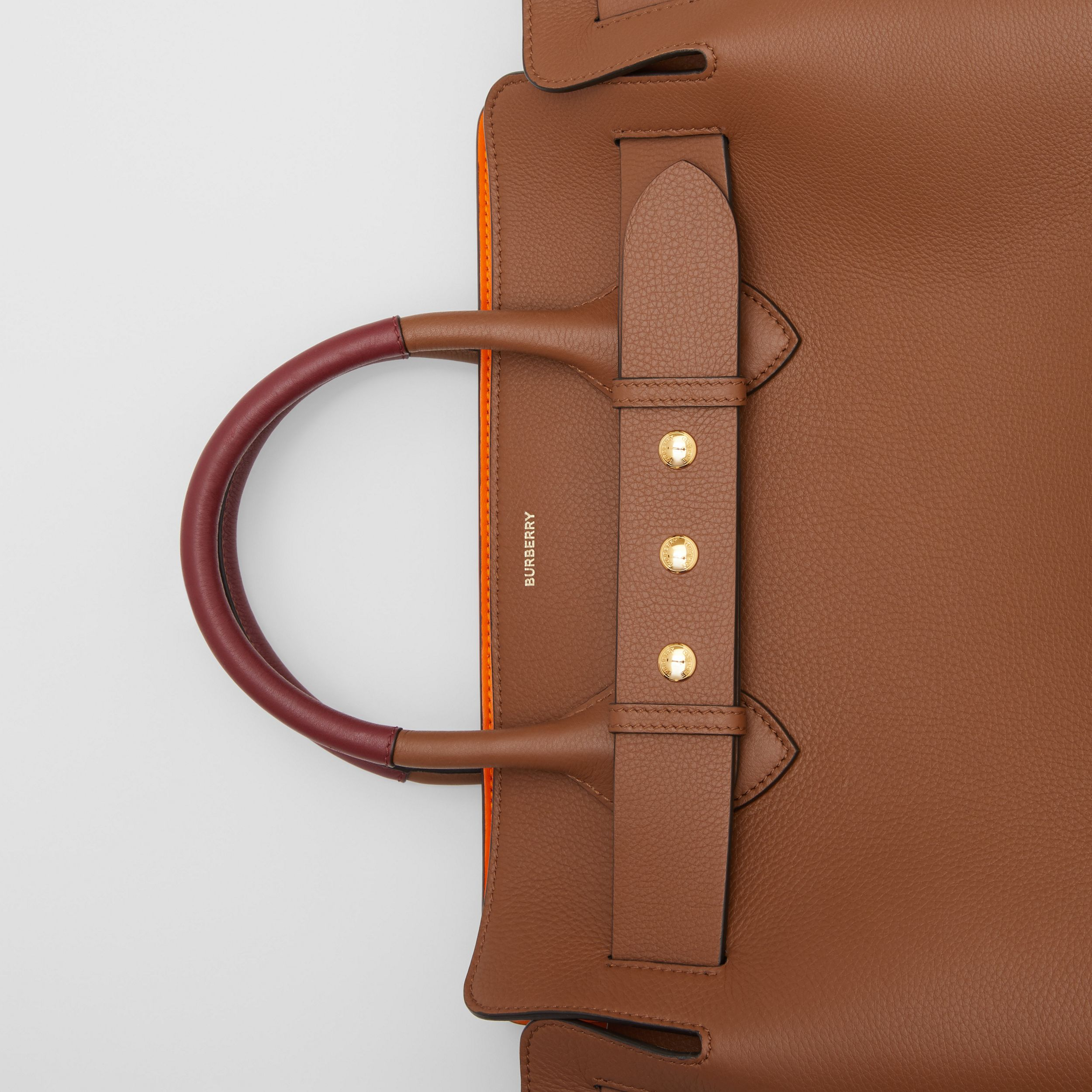 The Medium Leather Triple Stud Belt Bag in Tan - Women | Burberry United Kingdom - 2