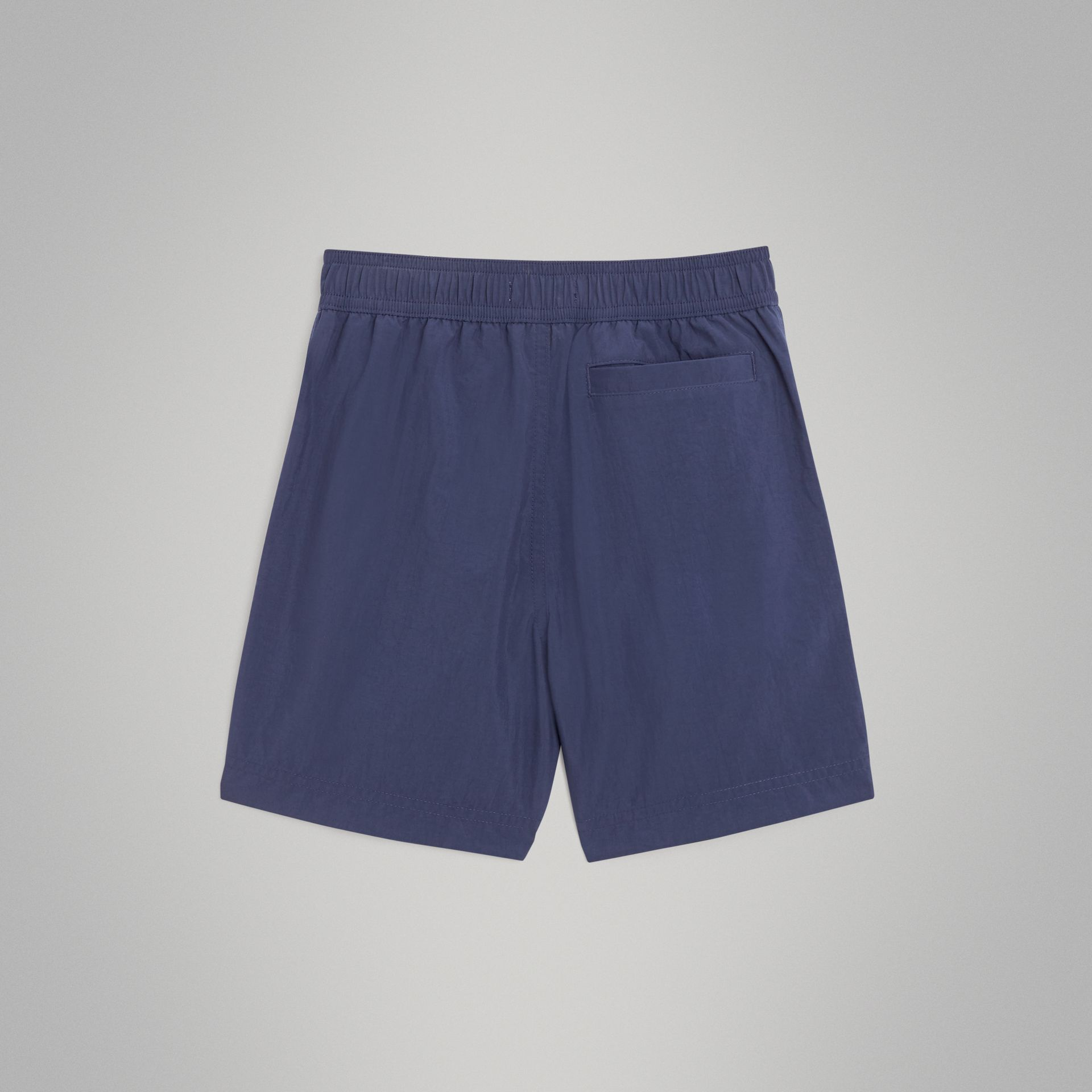 Drawcord Swim Shorts in Indigo | Burberry - gallery image 3