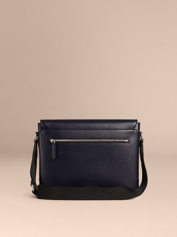 Navy scuro Borsa portadocumenti in pelle London Navy Scuro - cell image 3