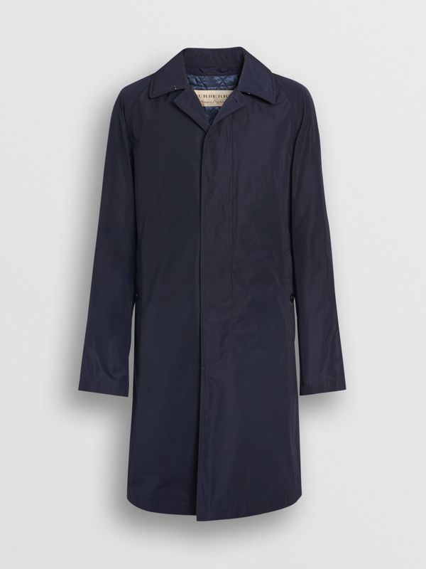 Shape-memory Taffeta Car Coat in Navy - Men | Burberry United Kingdom - cell image 3