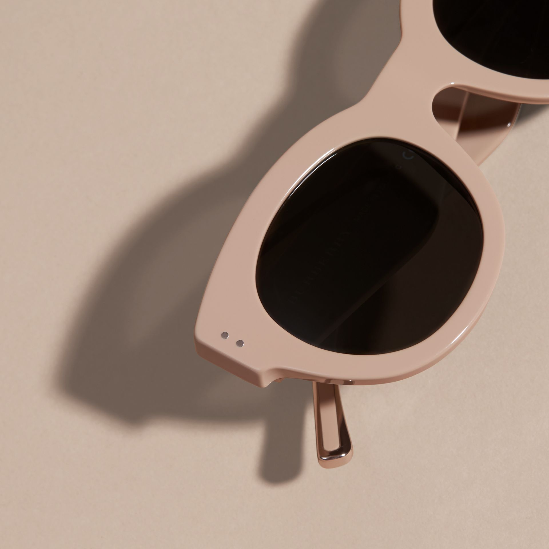 Nude Cat-eye Sunglasses Nude - gallery image 2