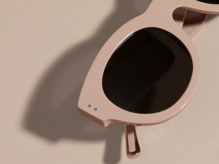 Nude Cat-eye Sunglasses Nude - cell image 1