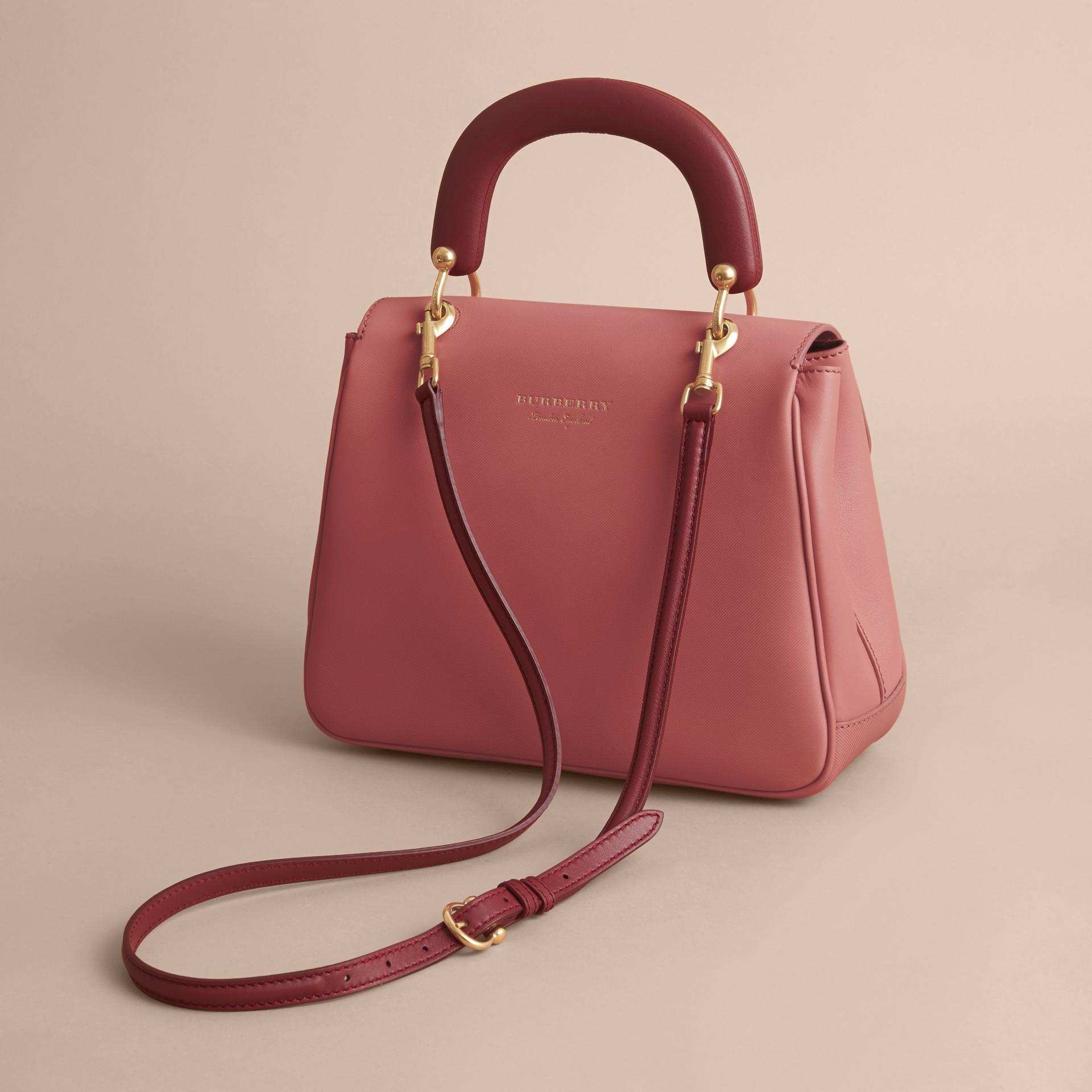 The Medium DK88 Top Handle Bag Blossom Pink - gallery image 3