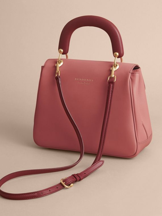 The Medium DK88 Top Handle Bag Blossom Pink - cell image 2