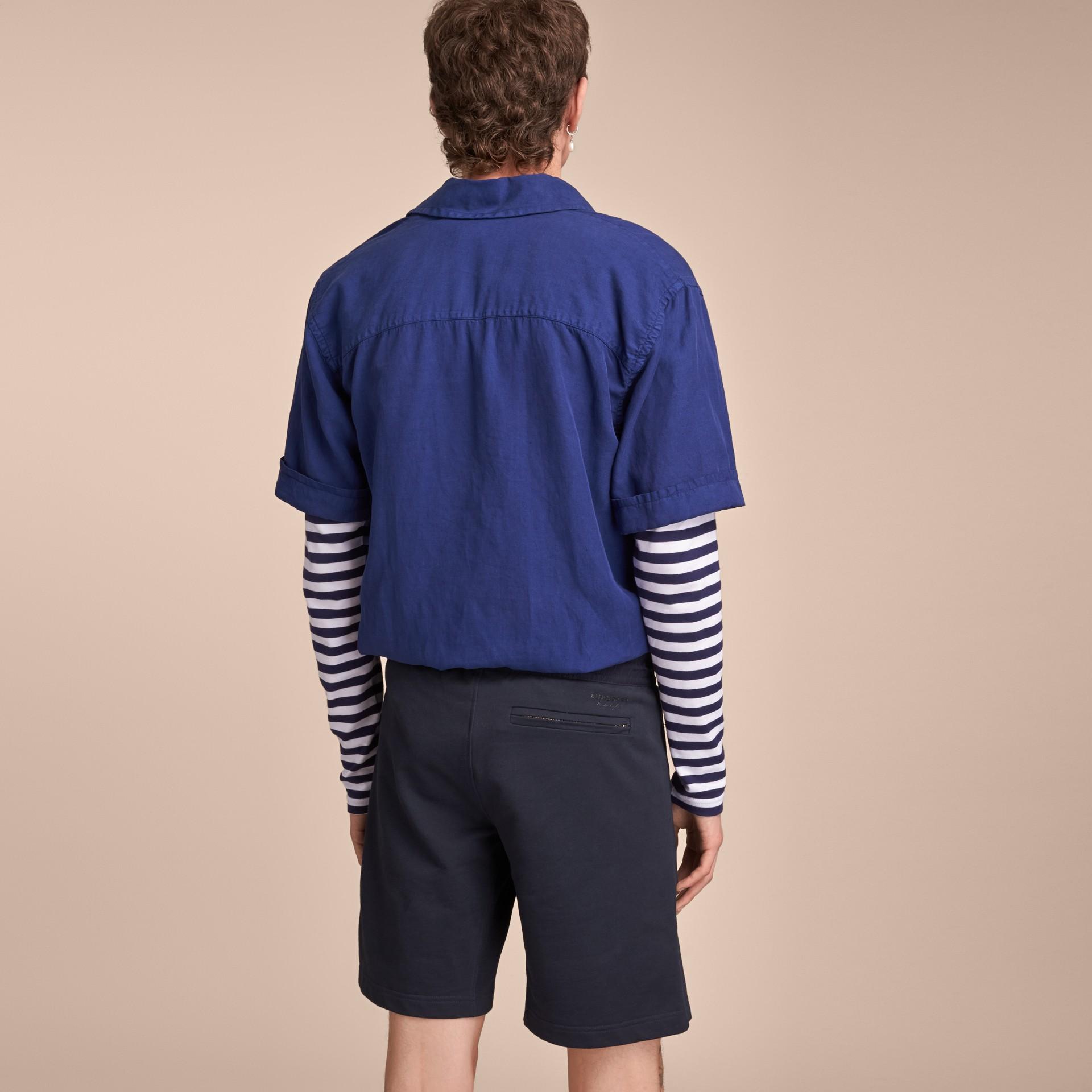 Lightweight Cotton Jersey Shorts - gallery image 3