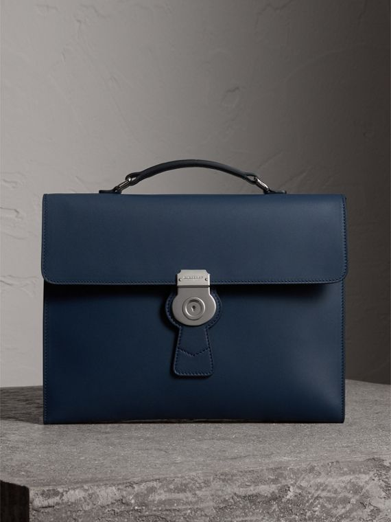 The Large DK88 Document Case in Ink Blue