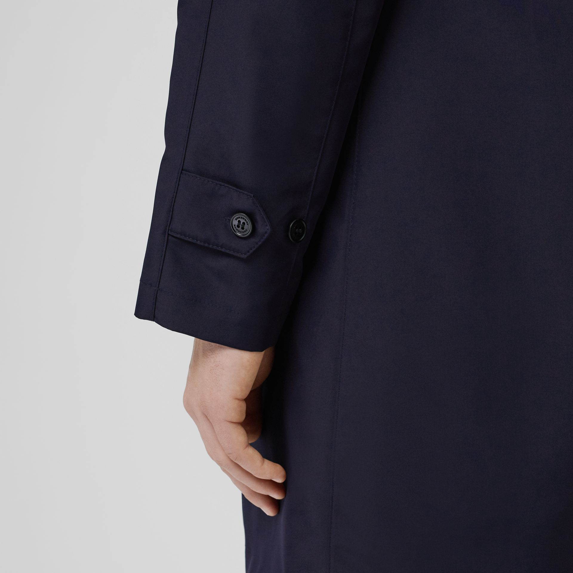 Bonded Car Coat with Warmer in Navy - Men | Burberry - gallery image 5
