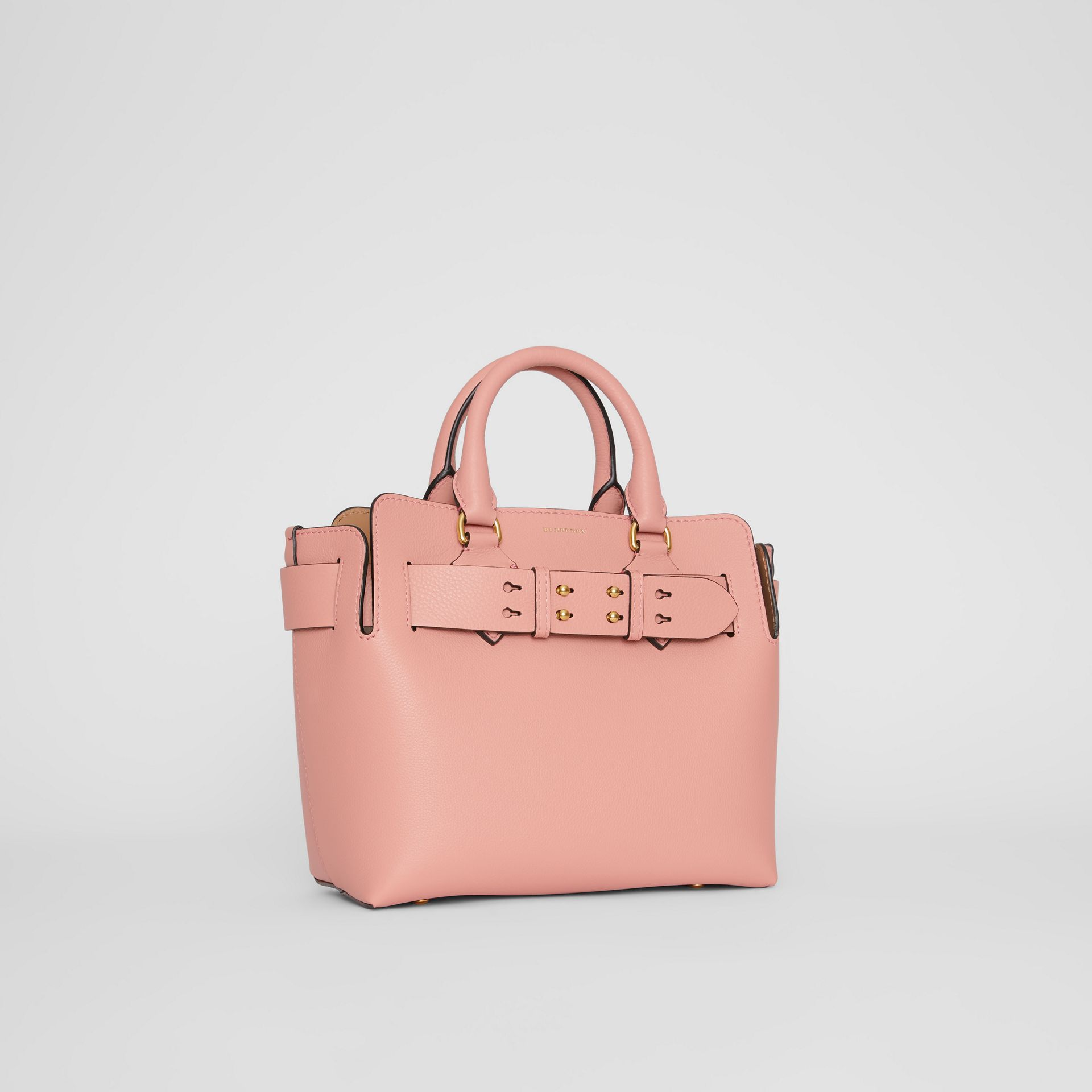 The Small Leather Belt Bag in Ash Rose - Women | Burberry Canada - gallery image 6