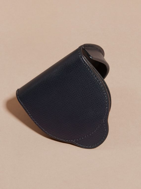 London Leather Coin Case in Dark Navy - Men | Burberry - cell image 3