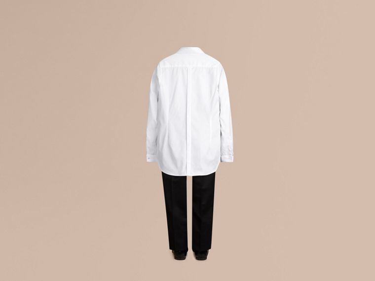 White Cotton Dress Shirt - cell image 2