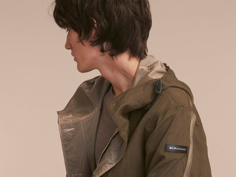 Reversible Hooded Packaway Technical Parka - cell image 4