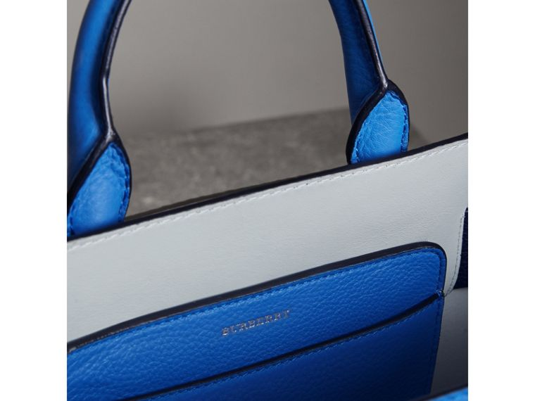 The Small Leather Belt Bag in Hydrangea Blue - Women | Burberry - cell image 4
