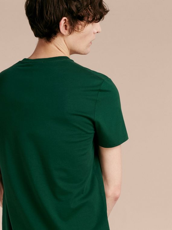 Vert racing T-shirt en coton ultra-doux Vert Racing - cell image 2