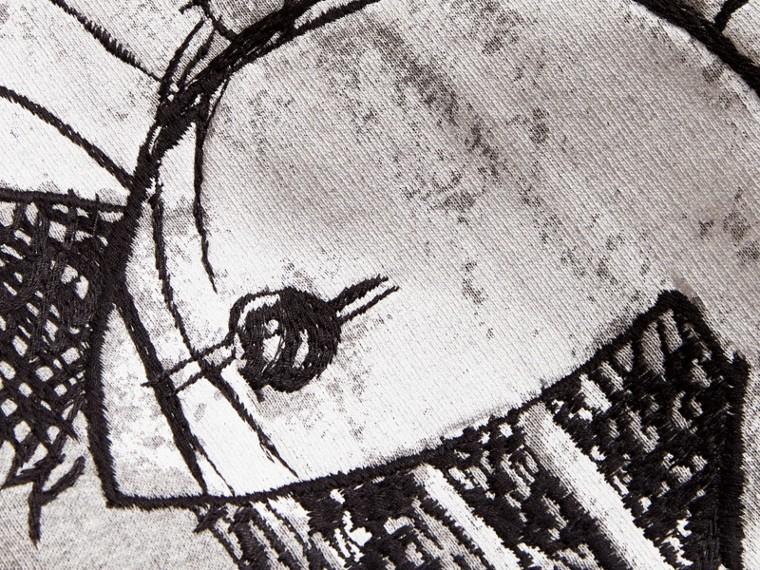 Felpa unisex con motivo Pallas Helmet - Uomo | Burberry - cell image 1