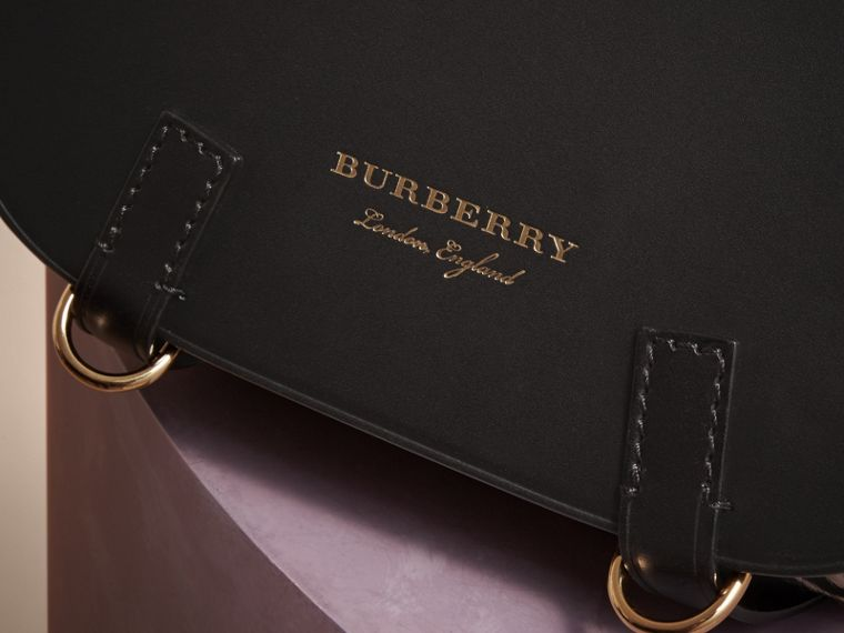 The Bridle Bag in Leather and Calfskin - Women | Burberry - cell image 1