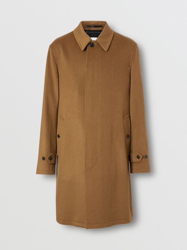 Car coat in cashmere (Cammello Scuro) - Uomo | Burberry - cell image 3