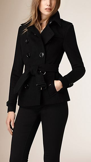 Wool Cashmere Trench Jacket
