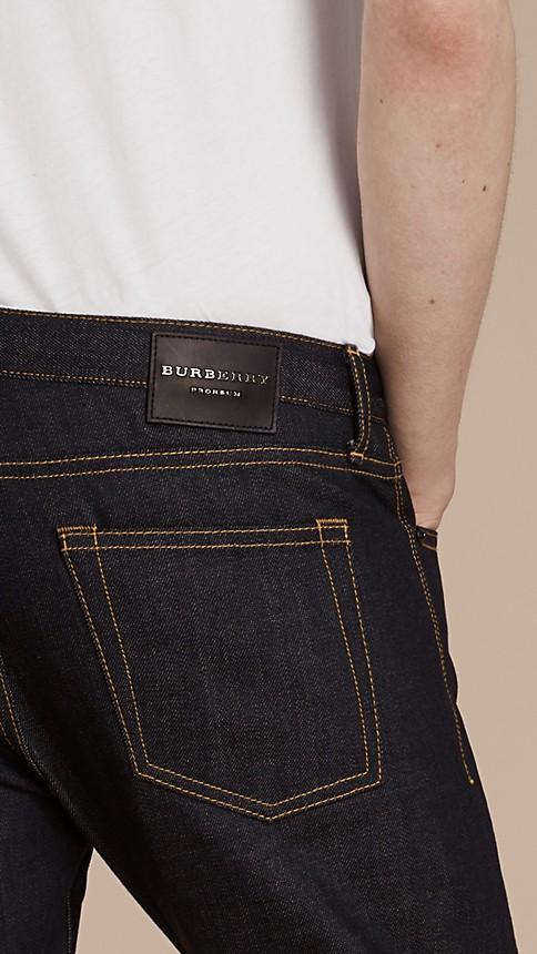 Indigo Skinny Fit Indigo Selvedge Jeans - Image 5